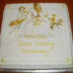 Golden Anniversary sugar Lillies