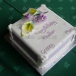 Lilacs & yellow Sugar Cala Lilies