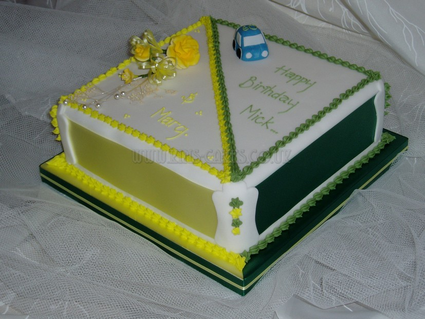 Joint Birthday Cake Images : Pin Joint 65th Celebration Cake 1 Decorating Community ...