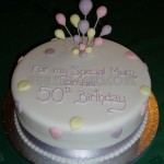 50th Pastel Balloons