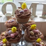 Easter Chic Nests Cupcakes