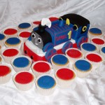 Thomas the Tank Engine & Cupcakes