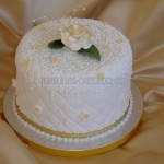 Filigree effect & sugar gold Rose