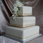 Ivory Rose Polka Dot 3Tier