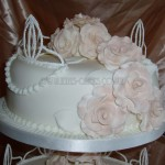 Tiara Pastel Rose Top Tier