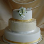 Simple White Lily 3Tier