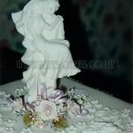 Lilac Floral Figurine