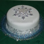 Simple Silver Snowflake Sparkle