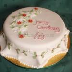 Holly & Christmas Rose design
